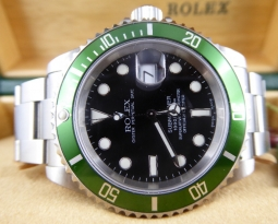 ROLEX SUBMARINER 16610 LV FAT FOUR NOS